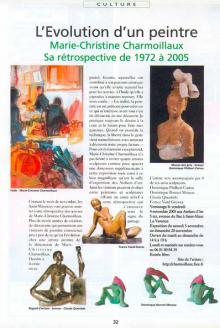 Evolution d'un peintre (Mes oeuvres de 1972 à 2005)